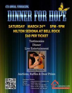 4th Annual Dinner for Hope @ Hilton Sedona Resort at Bell Rock | Sedona | Arizona | United States