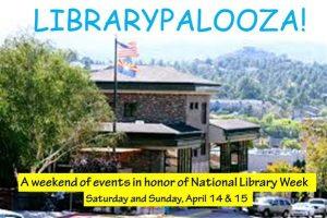 Librarypalooza at Prescott Public Library @ Prescott Public Library | Prescott | Arizona | United States