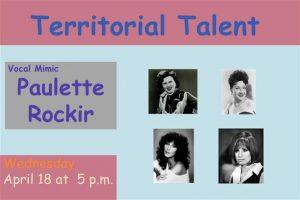 Territorial Talent: Paulette Rockir @ Prescott Public Library | Prescott | Arizona | United States
