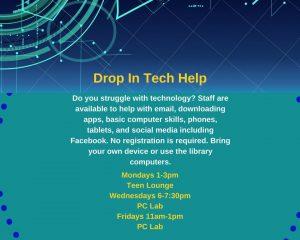 Drop In Tech Help @ Prescott Valley Public Library  | Prescott Valley | Arizona | United States