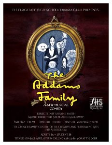The Addams Family - A New Musical Comedy Presented by Flagstaff High School @ Flagstaff High School | Flagstaff | Arizona | United States