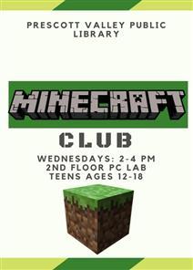 Teen Minecraft Club @ Prescott Valley Public Library  | Prescott Valley | Arizona | United States