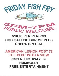 Dewey Humboldt American Legion Fish Fry @ Dewey Humboldt American Legion Fish Fry | Dewey-Humboldt | Arizona | United States