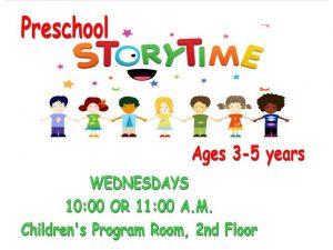 Preschool Story Time, 4-5 year olds @ Prescott Valley Public Library  | Prescott Valley | Arizona | United States