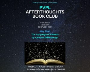 PVPL Afterthoughts Book Club - The Language of Flowers @ PV Public Library Genealogy Room  | Prescott Valley | Arizona | United States
