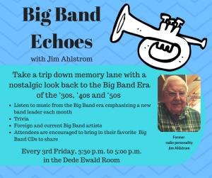 Big Band Echoes @ Cottonwood Public Library   Cottonwood   Arizona   United States