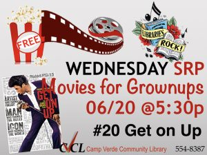 Movies for Grownups @ Camp Verde Community Library