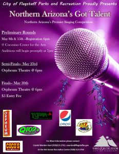 Northern Arizona's Got Talent-Semi Finals @ Orpheum Flagstaff | Flagstaff | Arizona | United States