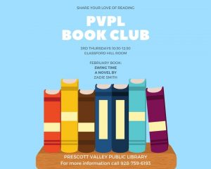 PVPL Book Club May Selection - The Whole Town's Talking @ Library Genealogy Room   Prescott Valley   Arizona   United States