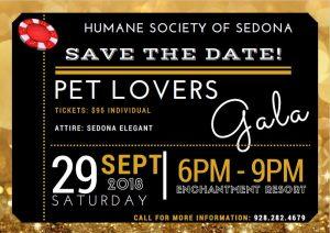 Monte Carlo Night- Pet Lover's Gala at Enchantment Resort @ Enchantment Resort