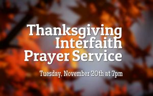 Thanksgiving Interfaith Prayer Service @ Sedona United Methodist Church