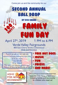 "2nd Annual ""Great Ball Drop"" Family Fun Day @ Verde Valley Fairgrounds"