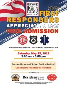 First Responders Appreciation Day @ Heritage Park Zoo
