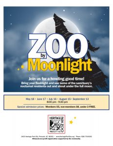 Zoo by Moonlight @ Heritage Park Zoo