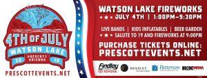 Prescott  4th of July @ Watson Lake Park