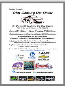 RADIO STATION APPEARANCE-21ST CENTURY CAR SHOW @ Courthouse Plaza