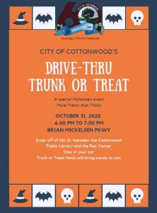 Drive-Thru Trunk or Treat @ Brian Mickelsen Parkway