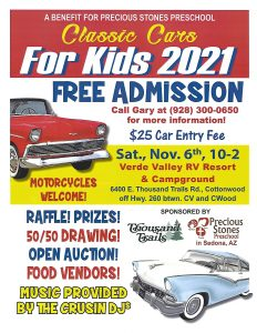 Classic Cars for Kids @ Verde Valley RV Resort & Campground/Thousand Trails