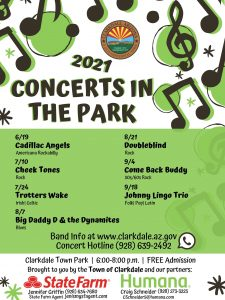 Clarkdale Concerts in the Park @ Clarkdale Town Park Gazebo