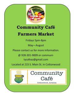 Community Cafe Farmers Market @ Commu8nity Cafe