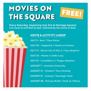 Movies on the Square Returns to Downtown Flagstaff @ Heritage Square