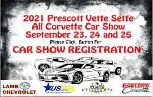 RADIO STATION APPEARANCE-Prescott Vette Car Show @ Courthouse Plaza