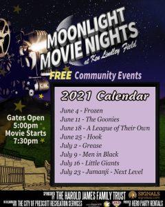 Moonlight Movie Nights @ Ken Lindley Field
