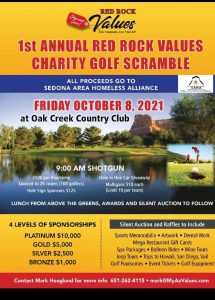The First Annual Charity Golf Scramble at Oak Creek Country Club