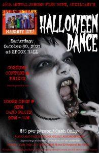 46-th annual Jerome Halloween Dance @ Spook Hall