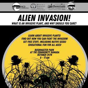 Alien Invasion-Invasive Plants Workshop @ Bushmaster Park